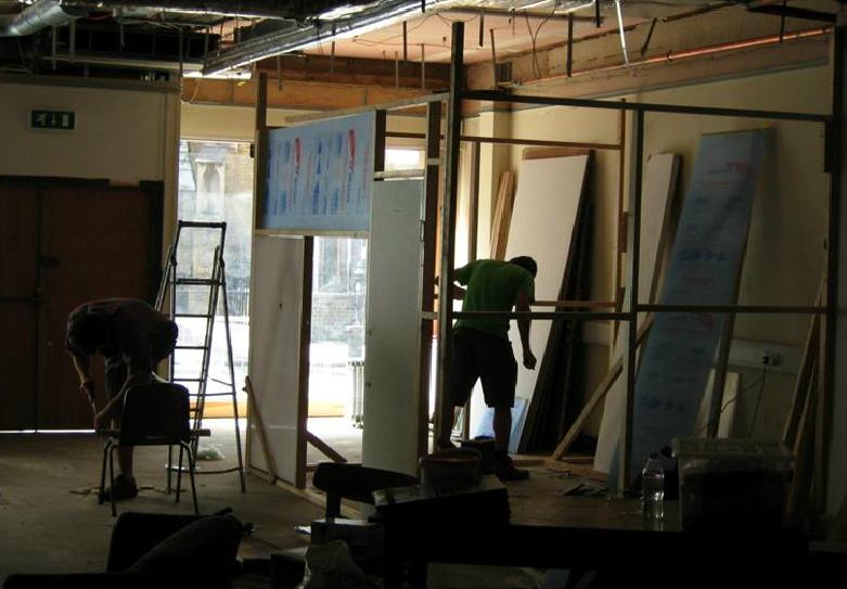 studio constrution